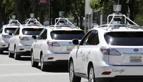 carros do google autonomos